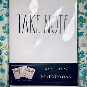 Rae Dunn. Notebook Trio✨